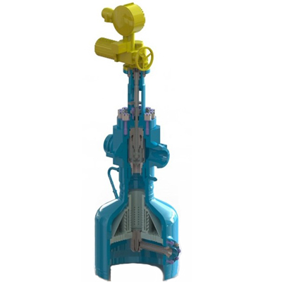 Steam valve for PRDS