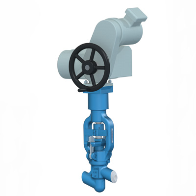 Stop valves for thermal power plants