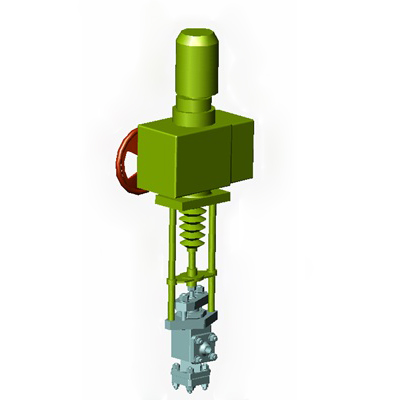 Variable multi-saddle control valve